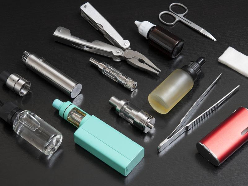 Kits d'e-cigarettes